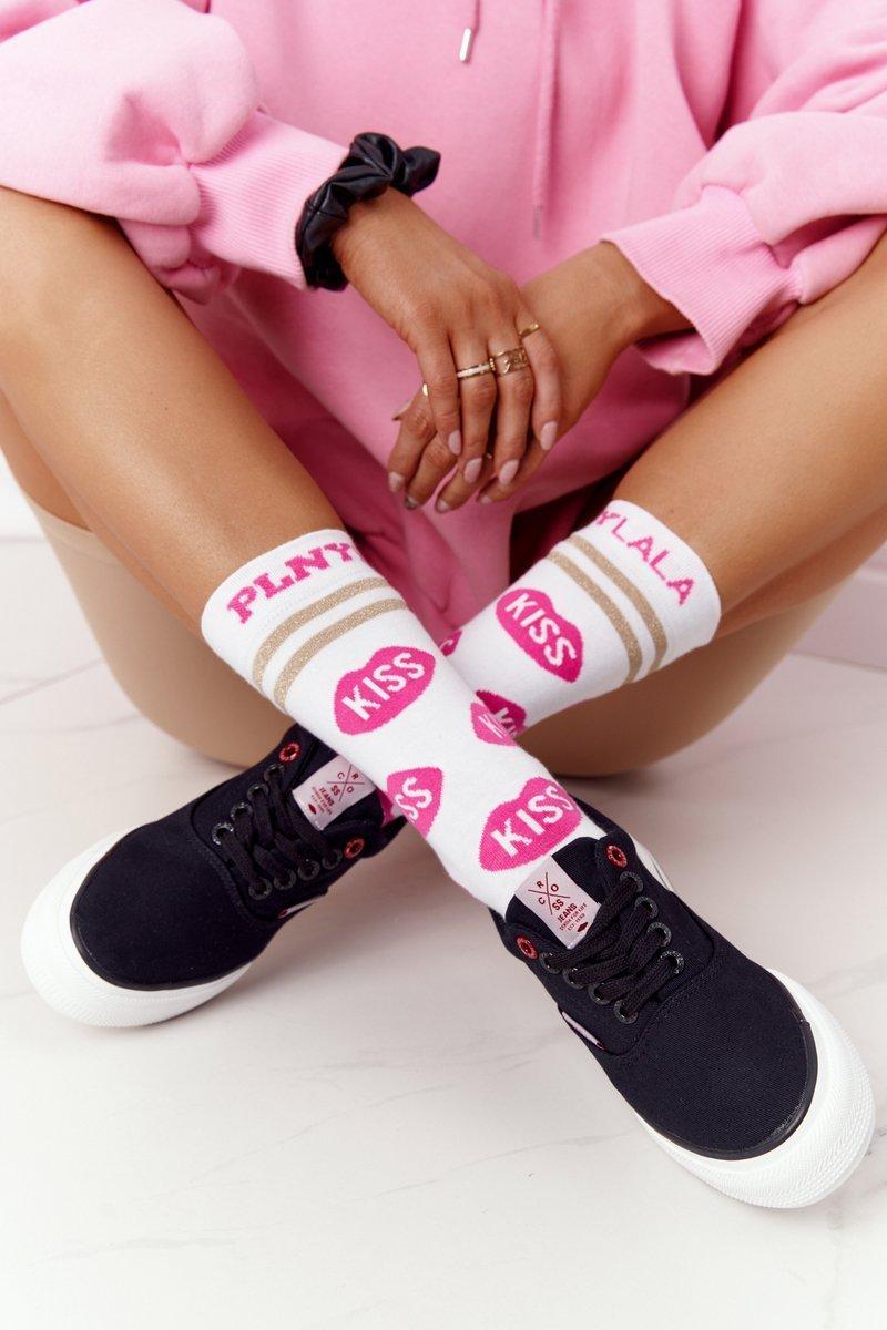 Women's Sneakers On A Platform CROSS JEANS FF2R4002C Black