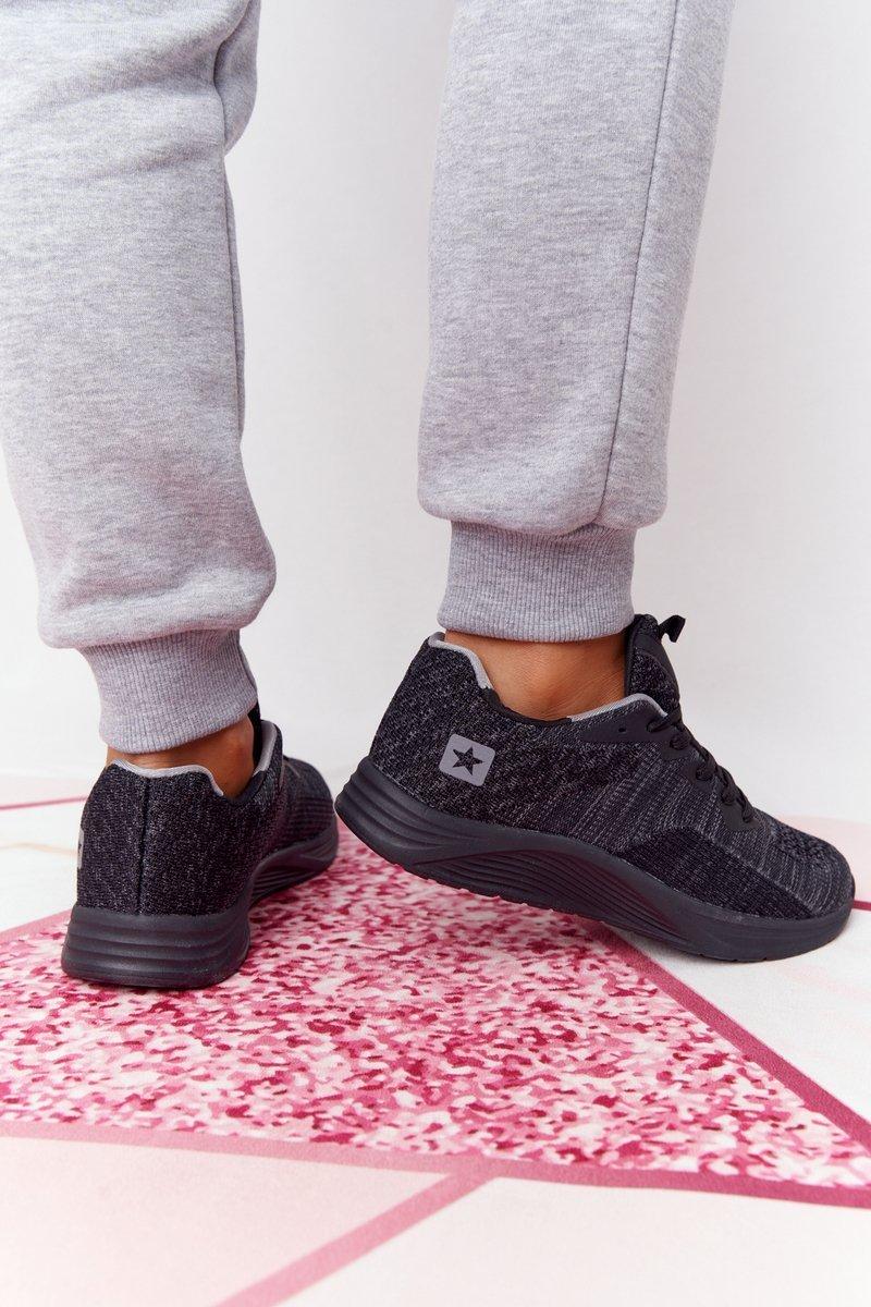 Women's Sport Shoes Comfort Foam Black Long Distance