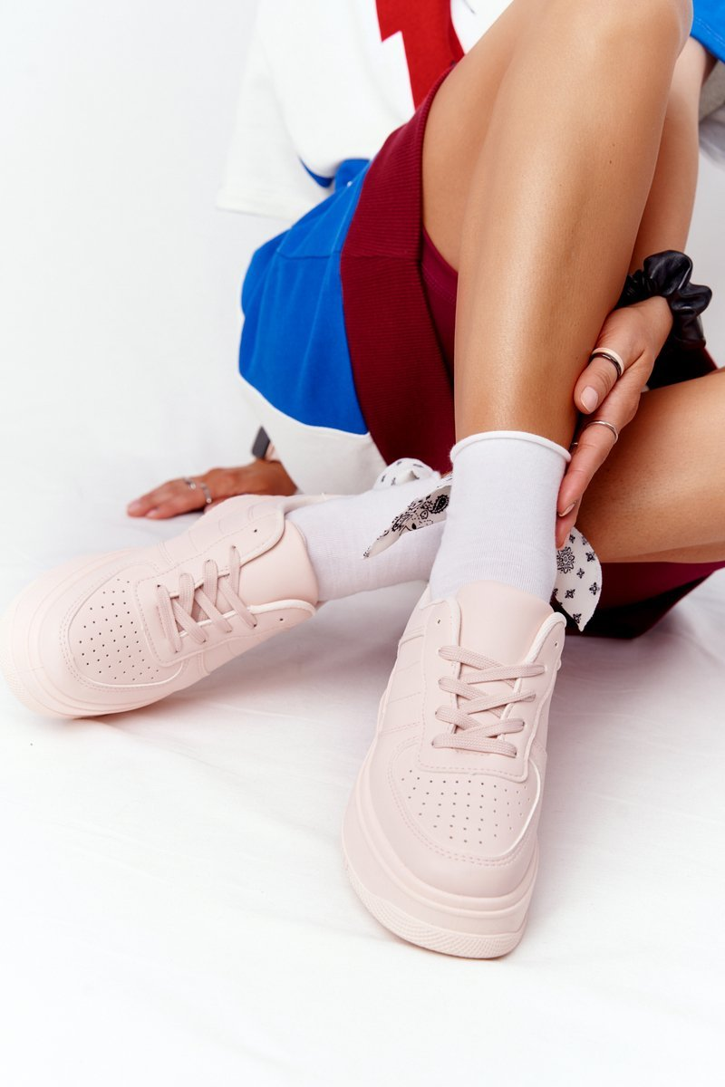Women's Sport Shoes On A Platform Pink This Is Me