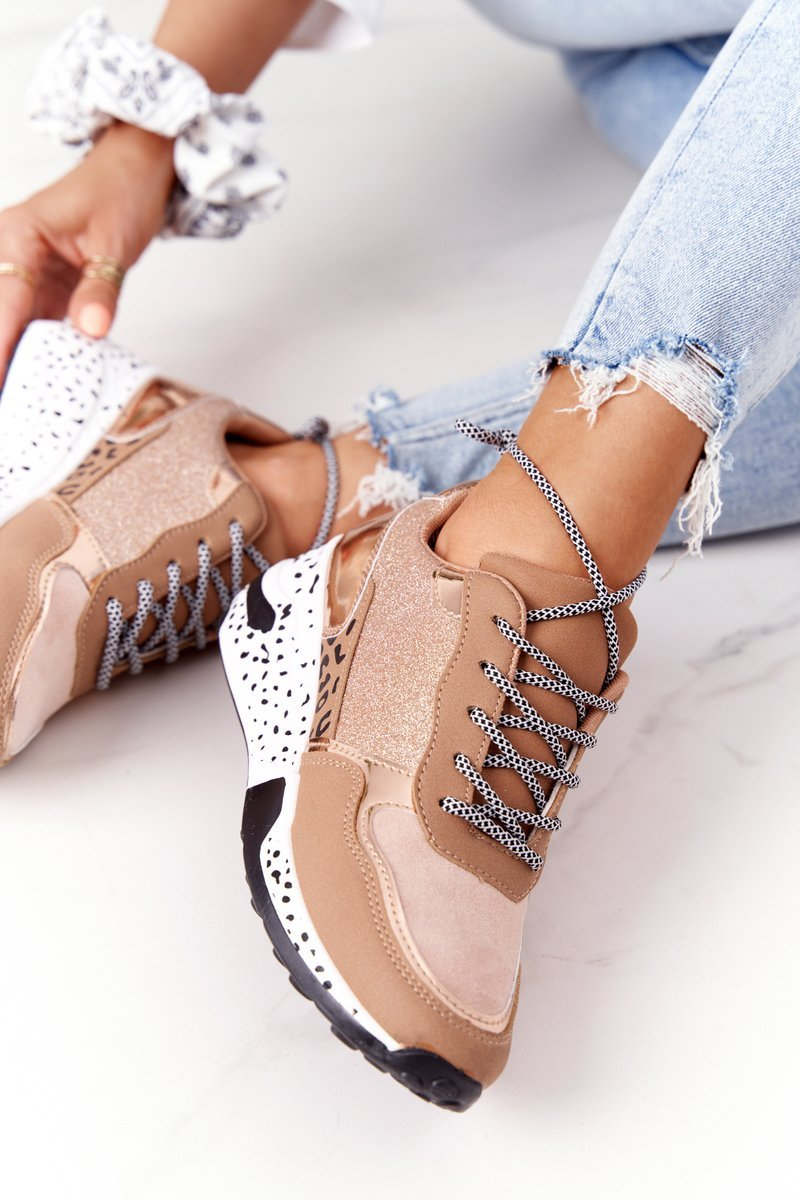 Women's Wedge Sneakers Champagne Avery