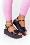 Fragrant Rubber Sandals Eco Friendly ZAXY HH285132 Black