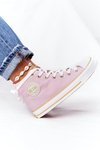Women's High Sneakers Big Star HH274447 Pink