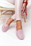 Women's Leather Loafers RIO FLORE Eco-Friendly Pink