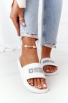 Women's Slippers Big Star HH274A035 White